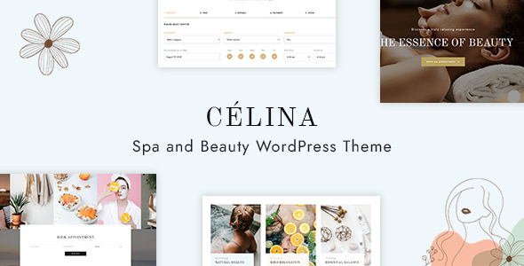 Clina - Spa and Beauty WordPress Theme TFx ThemeFre