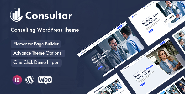 Consultar - Consulting Business WordPress Theme TFx ThemeFre