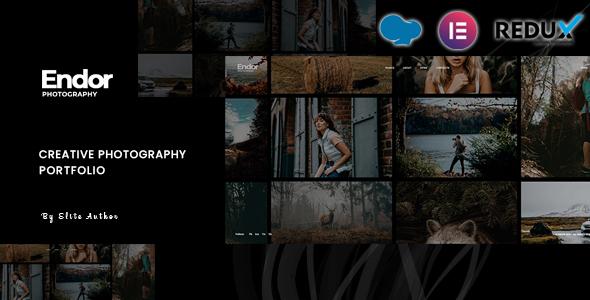 Endor - Creative Photography Portfolio WordPress Theme TFx ThemeFre