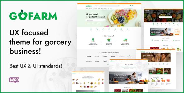Gofarm - Grocery WooCommerce WordPress Theme TFx ThemeFre