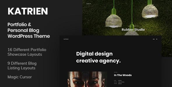 Katrien - Portfolio amp Personal Blog WordPress Theme TFx ThemeFre