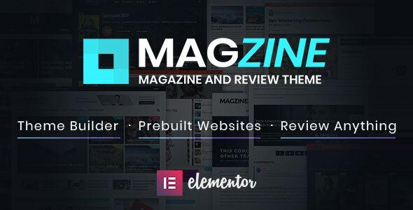 Magzine - Elementor Review and Magazine Theme TFx ThemeFre