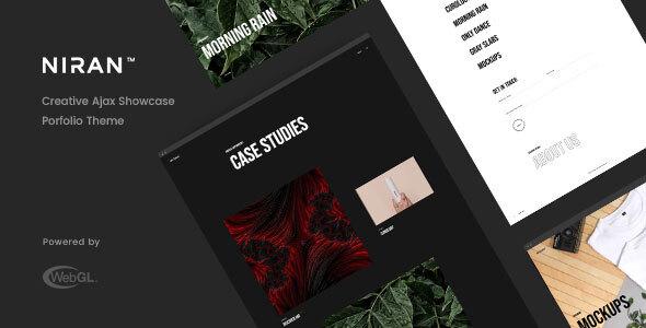 Niran - Creative Portfolio Theme TFx WordPress ThemeFre