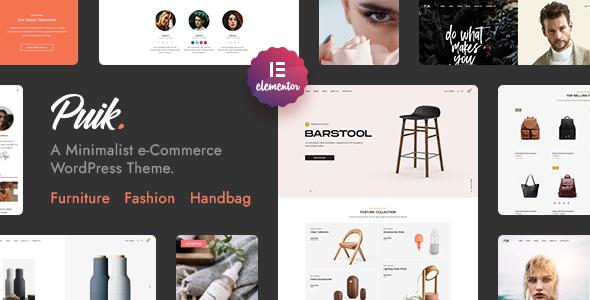 Puik - Elementor WooCommerce Theme TFx WordPress ThemeFre