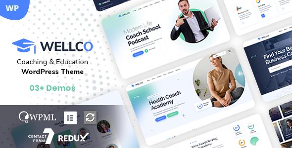 Wellco - Coach Online Courses WordPress TFx ThemeFre
