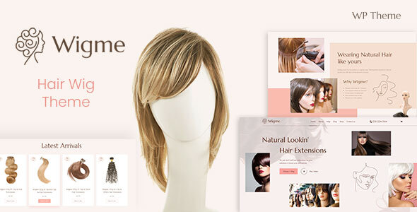 Wigme - Hair Extension Beauty Cosmetics Shop TFx ThemeFre