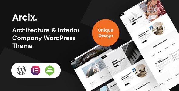 Arcix - Architecture WordPress Theme TFx ThemeFre