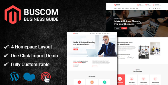 Buscom - Multipurpose Business WordPress Theme TFx ThemeFre