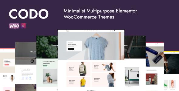 Codo - Minimalist WooCommerce Theme TFx ThemeFre