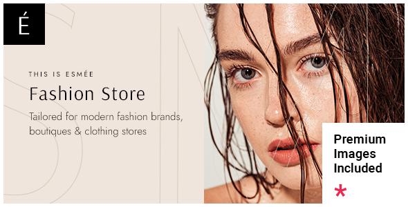 Esme - Fashion Store TFx WordPress ThemeFre