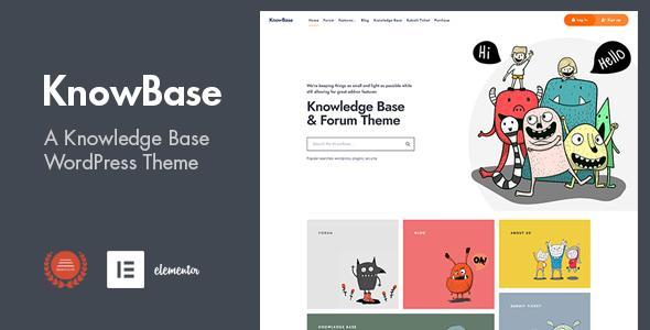KnowBase - A Helpdesk amp bbPress WordPress Theme TFx ThemeFre