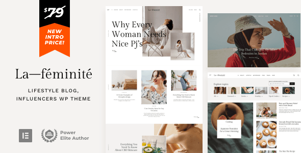 LaFeminite - Lifestyle Fashion Blog TFx ThemeFre