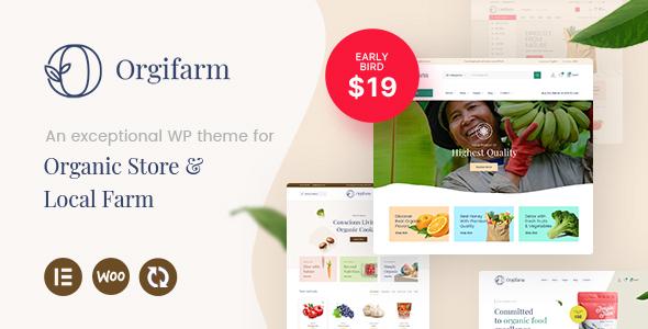 Orgifarm - An Organic Store WordPress Theme TFx ThemeFre
