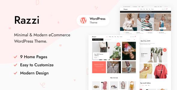 Razzi - WooCommerce WordPress Theme TFx ThemeFre